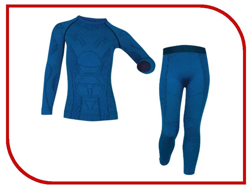 Комплект Brubeck Extreme Merino 116-122 Blue KP10060 brubeck бюст женский белый bra br00240