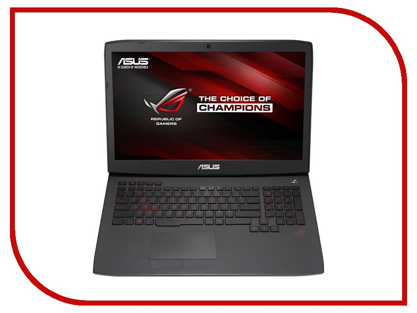 Ноутбук ASUS ROG G751JY-T7396T 90NB06F1-M07040 (Intel Core i7-4870HQ 2.5 GHz/32768Mb/2000Gb + 512Gb SSD/BD-R/nVidia GeForce GTX 980M 4096Mb/Wi-Fi/Cam/17.3/1920x1080/Windows 10 64-bit) 341871<br>