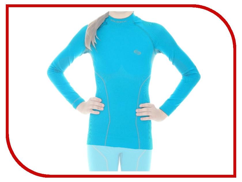 цена  Рубашка Brubeck Thermo 140-146 Azure LS11700 / LE10990 для девочек  онлайн в 2017 году