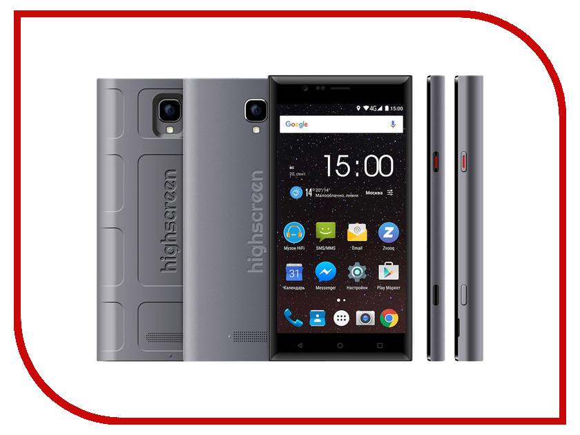 Сотовый телефон Highscreen Boost 3 GreyСотовые телефоны, смартфоны и фаблеты<br><br>