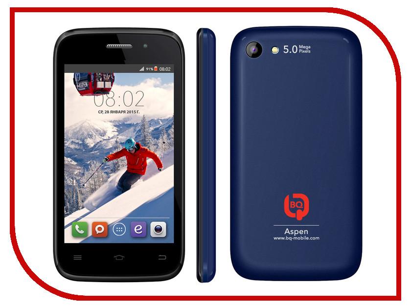 Сотовый телефон BQ BQS-4010 Aspen Blue