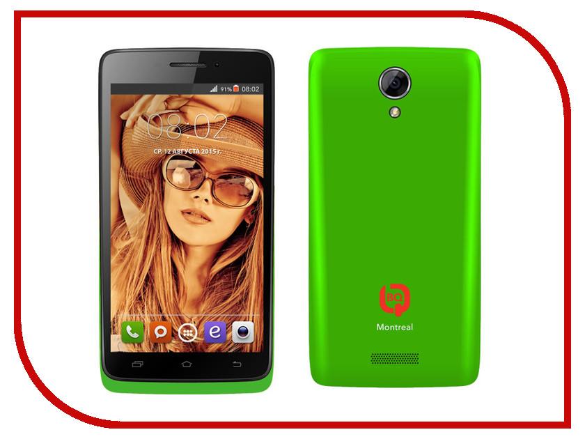Сотовый телефон BQ BQS-4707 Montreal Green<br>