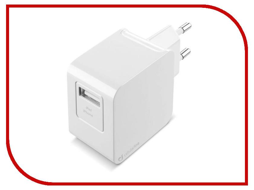 Зарядное устройство Cellular Line White ACHUSBMFIIPH2AW