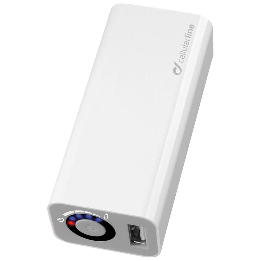 Аккумулятор Cellular Line POCKETCHG3000 3000 mAh White<br>