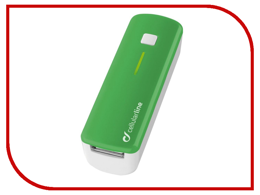 Аккумулятор Cellular Line 2200 mAh Green POCKETCHGSMARTG