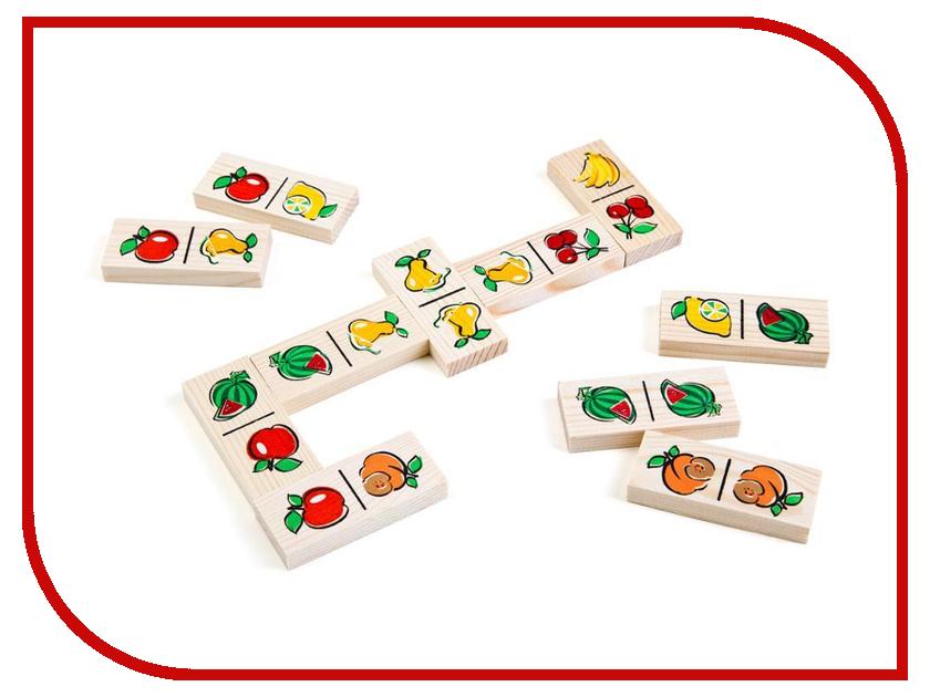 Настольная игра Томик Домино Фрукты-ягоды 5555-5 томик домино репка