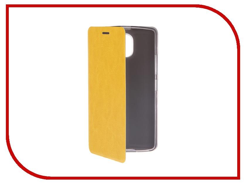 Аксессуар Чехол Lenovo Vibe P1m SkinBox Lux Yellow T-S-LP1ma40-003<br>