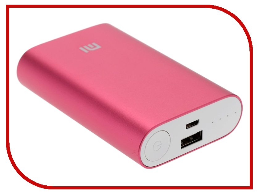 Аккумулятор Xiaomi Mi Power Bank NDY-02-AN / VNX4098CN 10000 mAh Red<br>