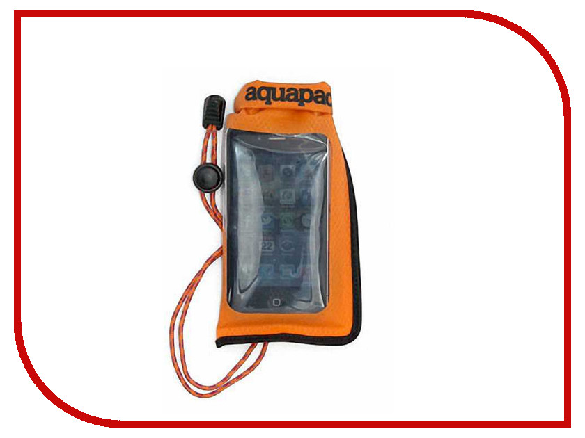 Аквабокс Aquapac Mini Stormproof Phone Case Orange 034
