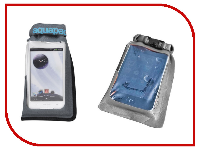 Аквабокс Aquapac Mini Stormproof Phone Case Grey 044
