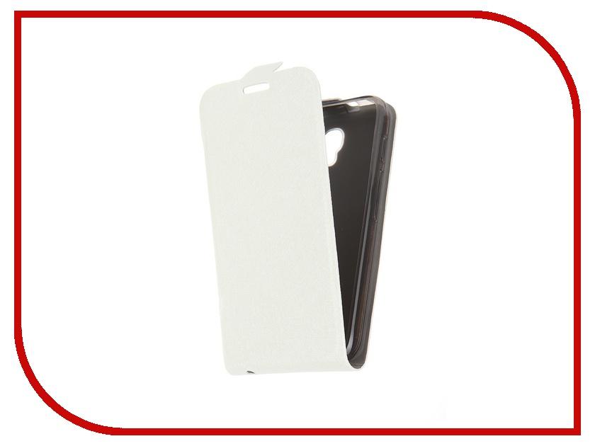 Аксессуар Чехол-флип Alcatel 4024D Pixi Slim SkinBox White T-S-A4024D-001