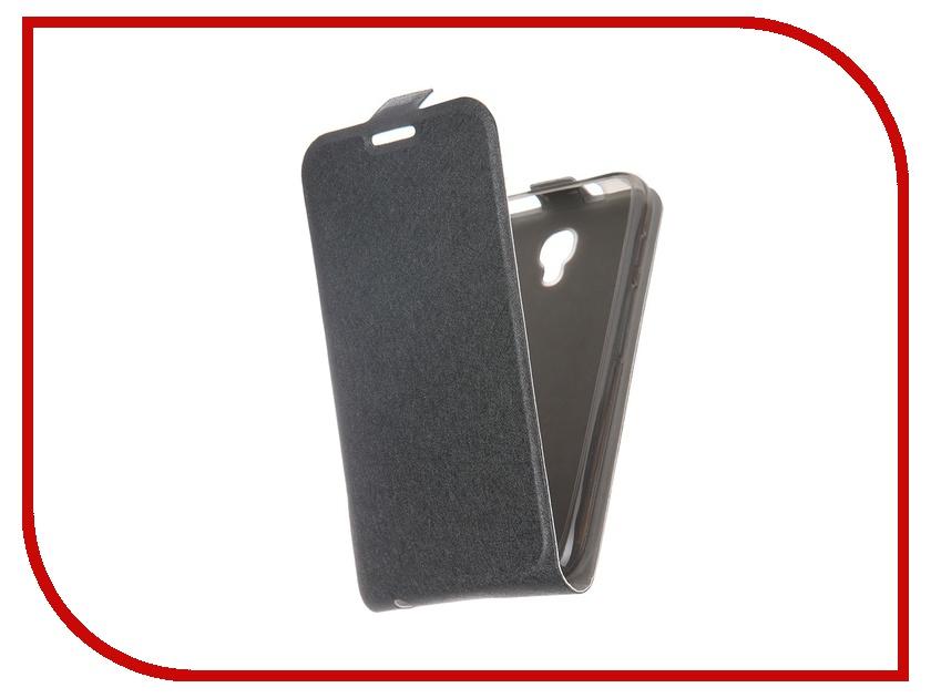 Аксессуар Чехол-флип Alcatel 4024D Pixi Slim SkinBox Black T-S-A4024D-001