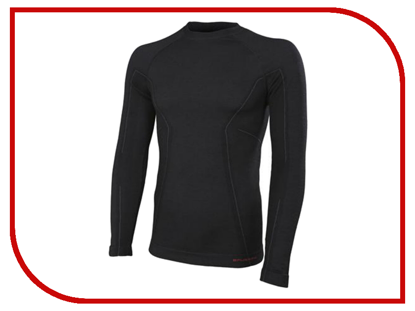 Рубашка Brubeck Active Wool M Black LS12820 / LS13020 мужская<br>