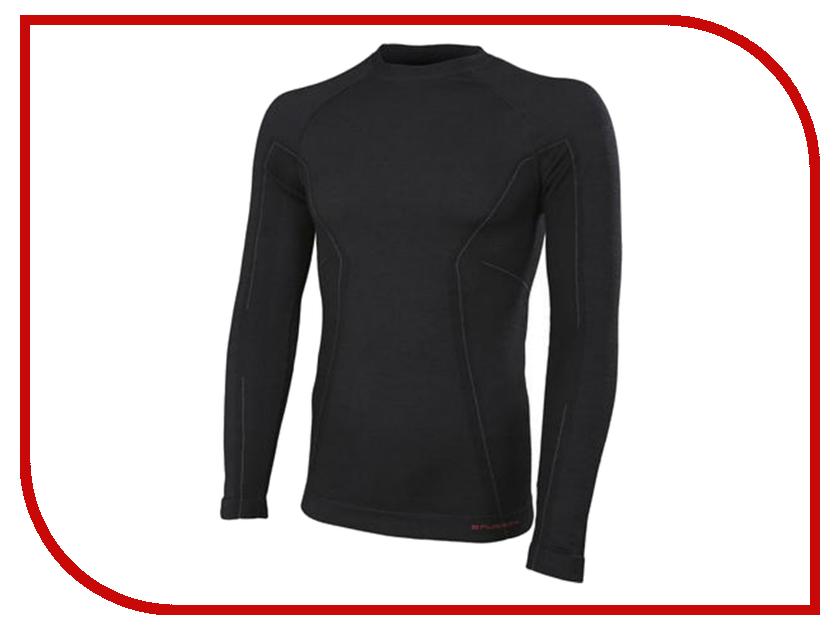 Рубашка Brubeck Active Wool L Black LS12820 / LS13020 мужская