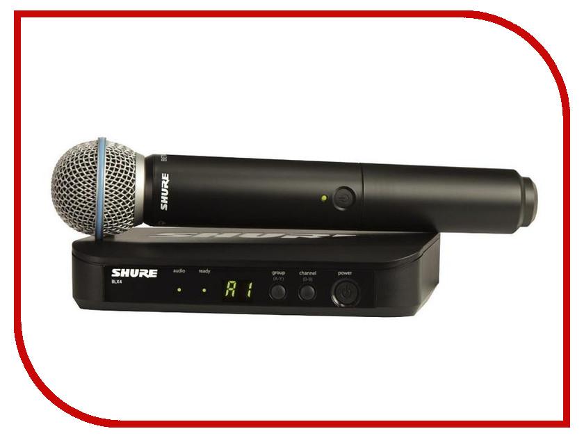 Радиомикрофон SHURE BLX24E/B58радиосистемы и микрофоны<br><br>