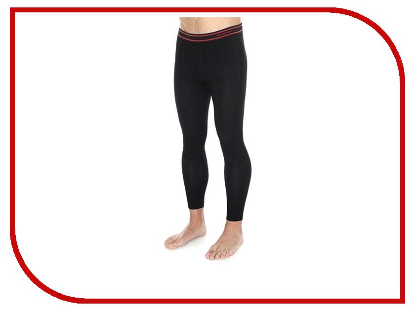 Кальсоны Brubeck Active Wool L Black LE11710 / LE11820 мужские