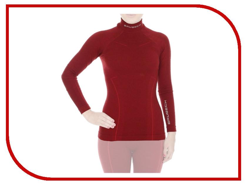 цена  Рубашка Brubeck Wool Merino L Bordo LS10500 / LS11930  онлайн в 2017 году