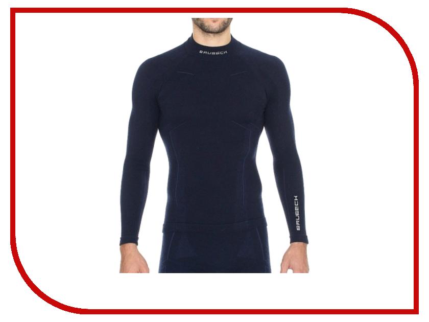 Рубашка Brubeck Wool Merino M Dark Blue LS10510 / LS11920 мужская