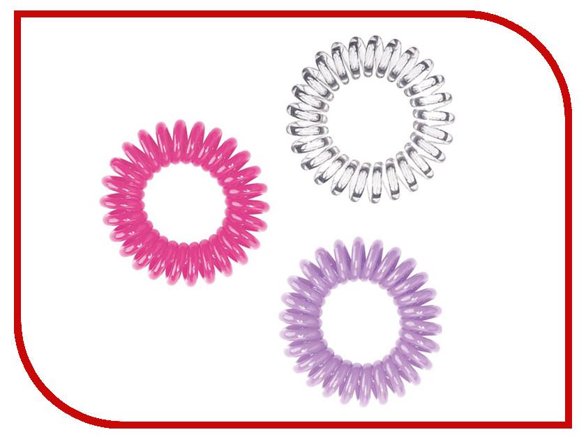 Резинка для волос HH Simonsen Hair Bobbles Набор Принцесса Pink/Purple/Transparent от Pleer