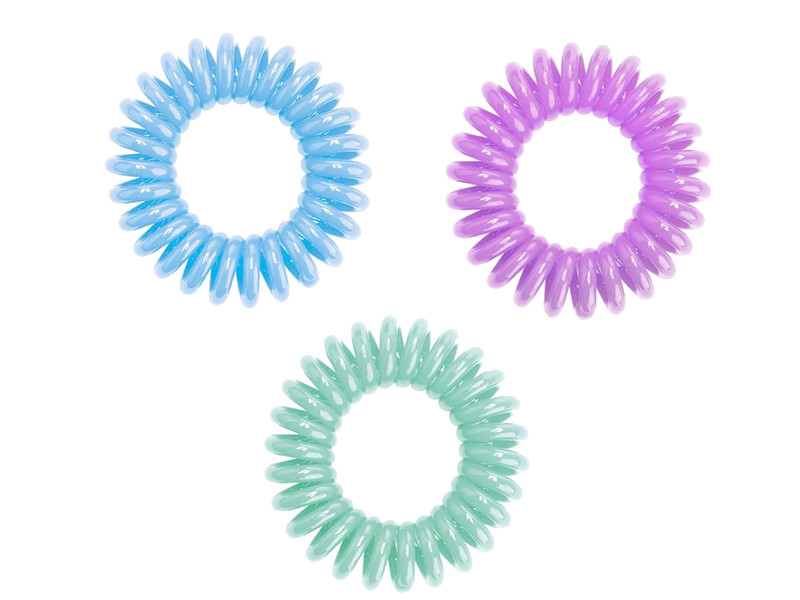 Резинка для волос HH Simonsen Hair Bobbles Набор Акварель Purple/Blue/Light Green от Pleer