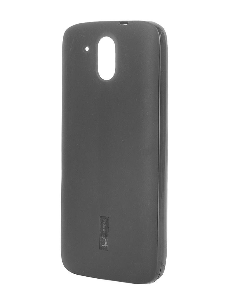 Аксессуар Чехол-накладка HTC Desire 526G Cherry Black 8277<br>