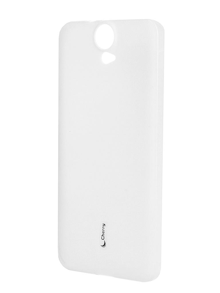 Аксессуар Чехол-накладка HTC One E9 Cherry White 8279<br>