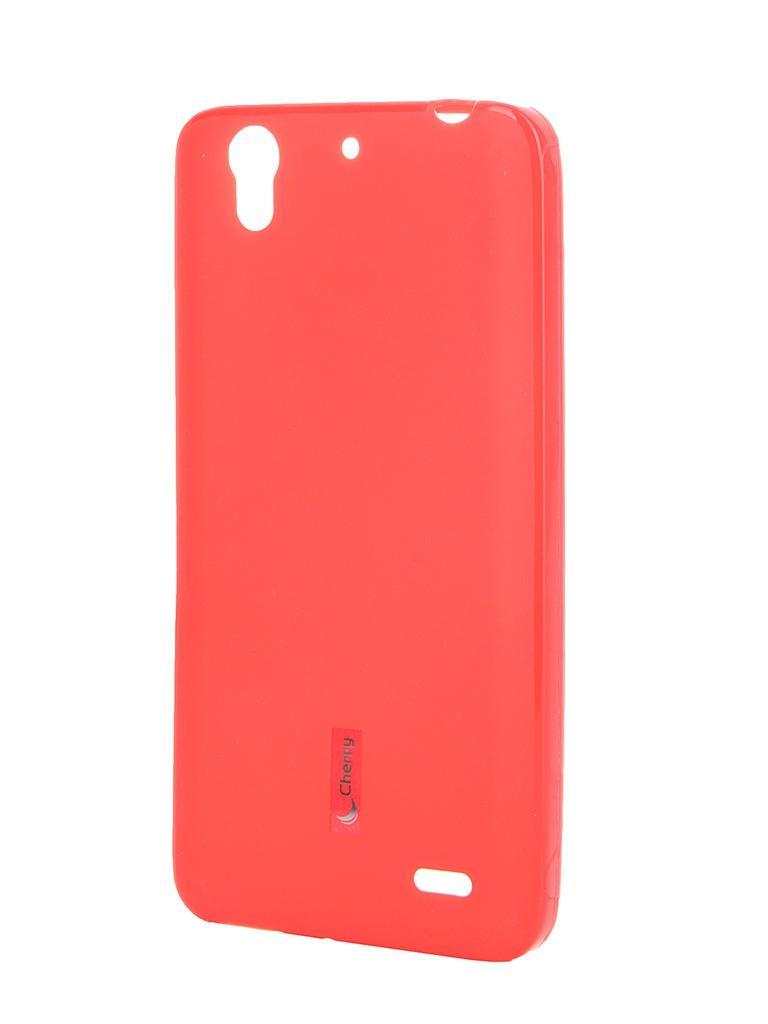 Аксессуар Чехол-накладка Huawei Ascend G630 Cherry Red 8287<br>