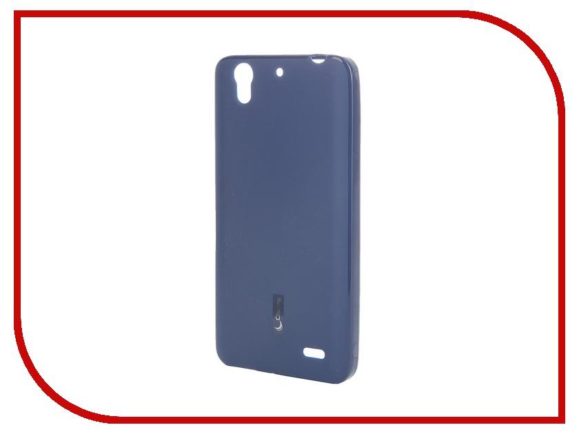 Аксессуар Чехол-накладка Huawei Ascend G630 Cherry Dark Blue 8288