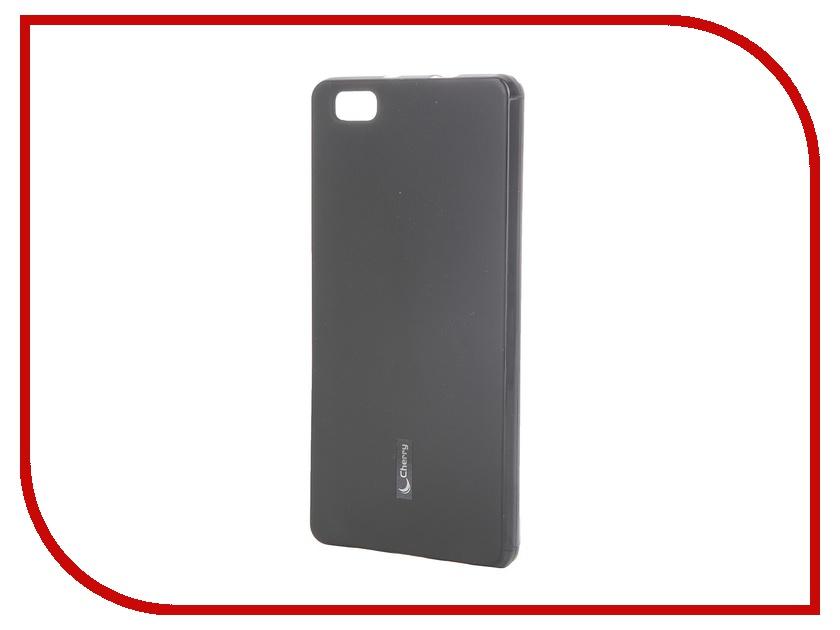 Аксессуар Чехол-накладка Huawei P8 Lite Cherry Black 8294