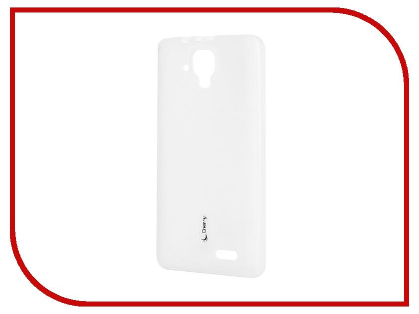 Аксессуар Чехол-накладка Lenovo A536 Cherry White 8300