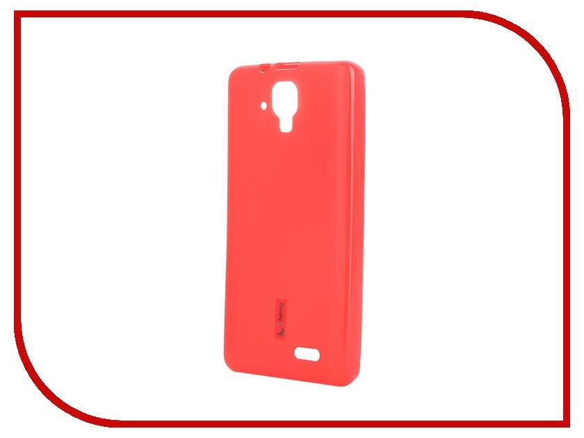 Аксессуар Чехол-накладка Lenovo A536 Cherry Red 8301