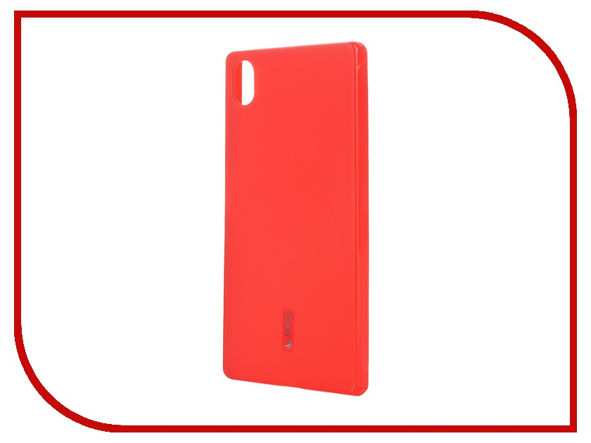 Аксессуар Чехол-накладка Sony Xperia Z5 Cherry Red 8228<br>