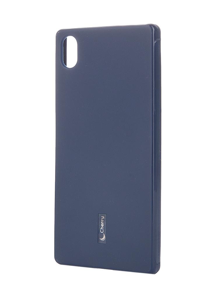 Аксессуар Чехол-накладка Sony Xperia Z5 Cherry Dark Blue 8321<br>