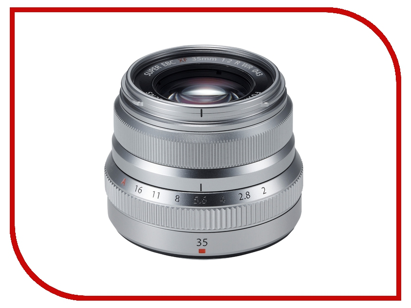 Объектив FujiFilm XF 35 mm F/2 R WR Silver* free shipping 1pcs lot xf f397 297 v03 touch
