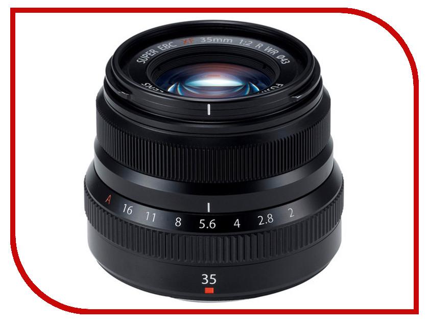 Объектив FujiFilm XF 35 mm F/2 R WR Black*