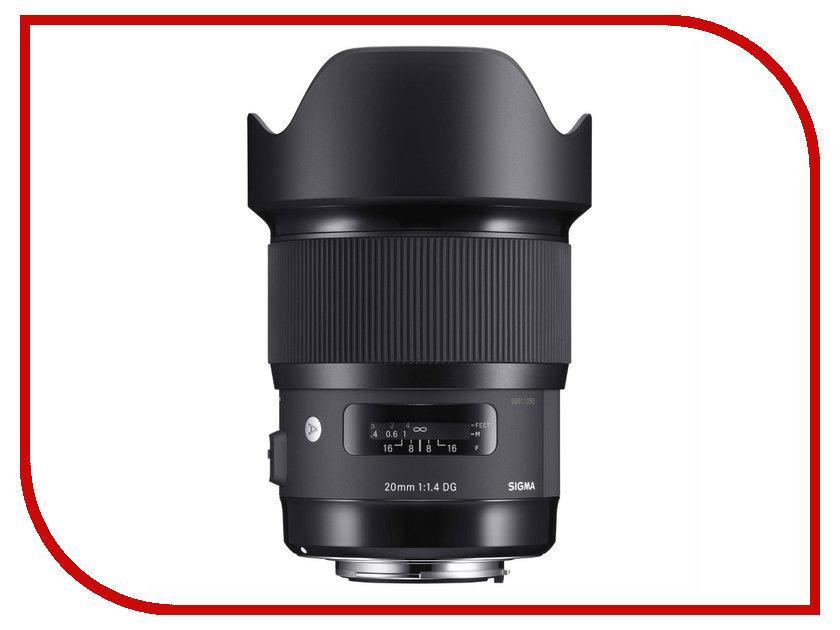 Zakazat.ru: Объектив Sigma Canon AF 20 mm F/1.4 DG HSM Art EF