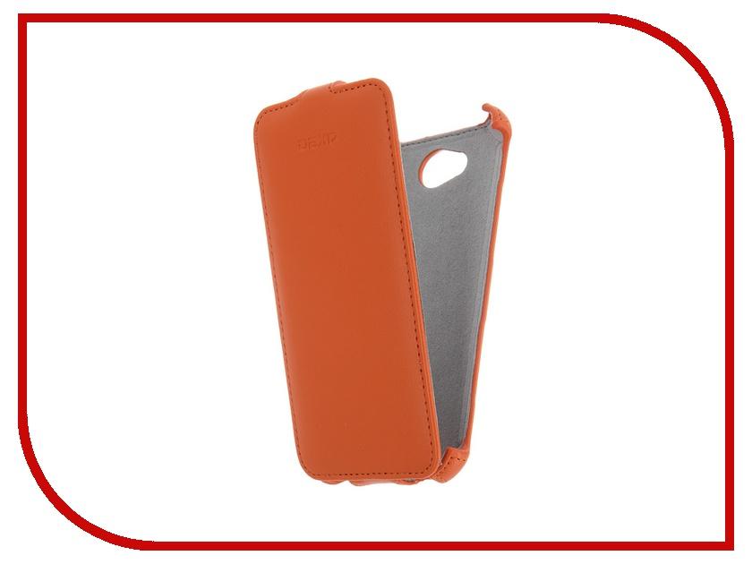 Аксессуар Чехол-флип для DEXP Ixion E150 Orange
