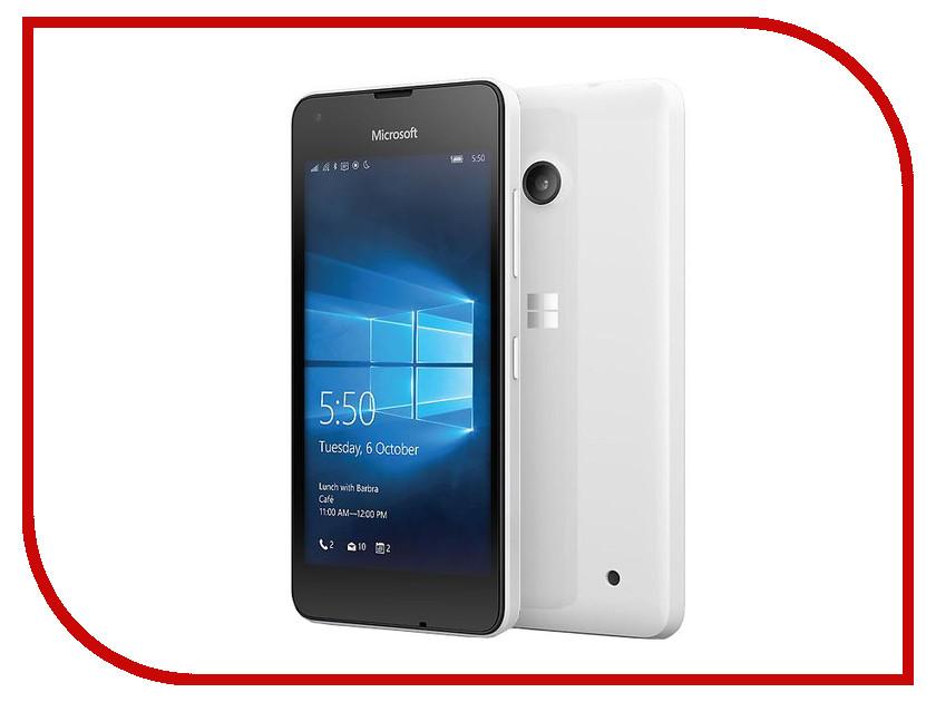 Сотовый телефон Microsoft 550 Lumia White<br>