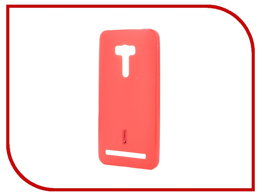 Аксессуар Чехол-накладка ASUS ZenFone Selfie ZD551KL Cherry Red 8271<br>