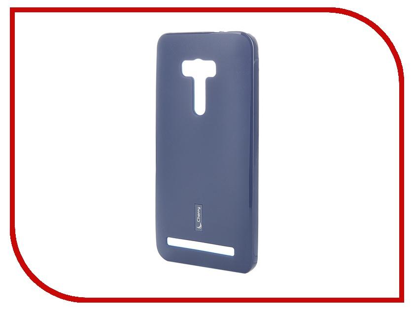 Аксессуар Чехол-накладка ASUS ZenFone Selfie ZD551KL Cherry Dark Blue 8272<br>