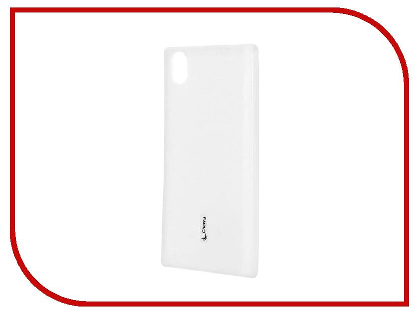 Аксессуар Чехол-накладка Lenovo P70 Cherry White 8304