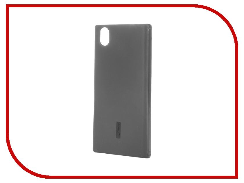 Аксессуар Чехол-накладка Lenovo P70 Cherry Black 8305<br>