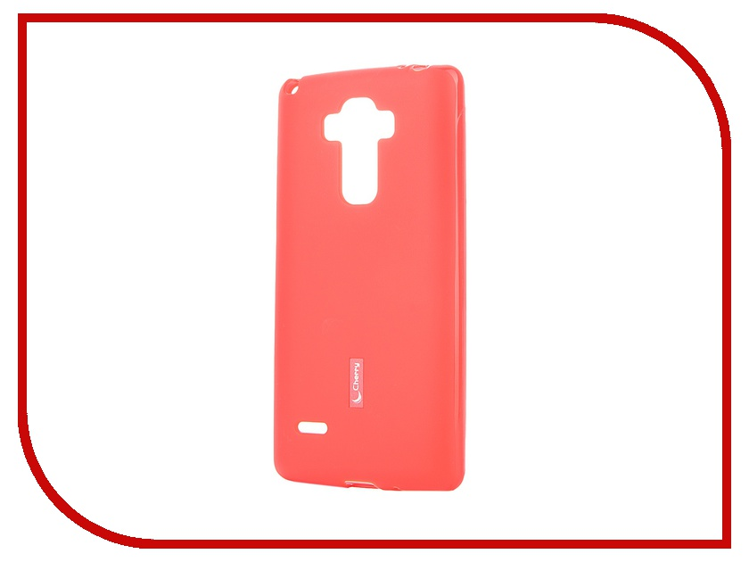 все цены на  Аксессуар Чехол-накладка LG G4 Stylus H540F Cherry Red 8306  онлайн