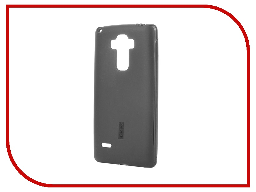Аксессуар Чехол-накладка LG G4 Stylus H540F Cherry Black 8307<br>