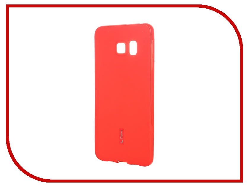 Аксессуар Чехол-накладка Samsung SM-G928 Galaxy S6 Edge+ Cherry Red 8309 samsung sm g925f galaxy s6 edge 32 gb emerald