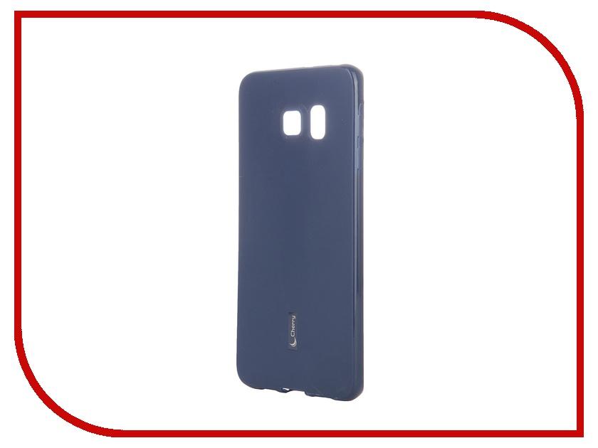 Аксессуар Чехол-накладка Samsung SM-G928 Galaxy S6 Edge+ Cherry Dark Blue 8310<br>