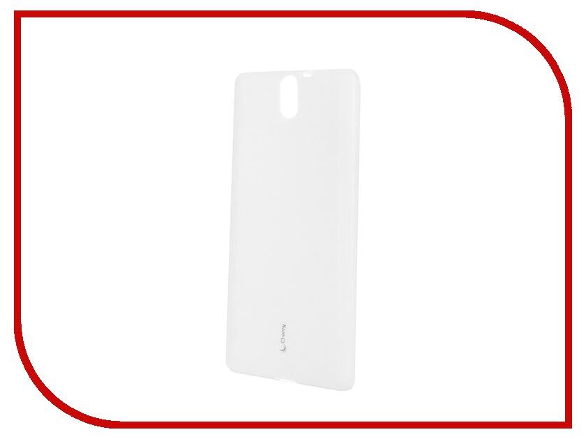 Аксессуар Чехол-накладка Sony Xperia C5 Ultra Dual Cherry White 8312