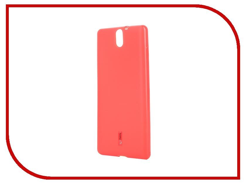 Аксессуар Чехол-накладка Sony Xperia C5 Ultra Dual Cherry Red 8313