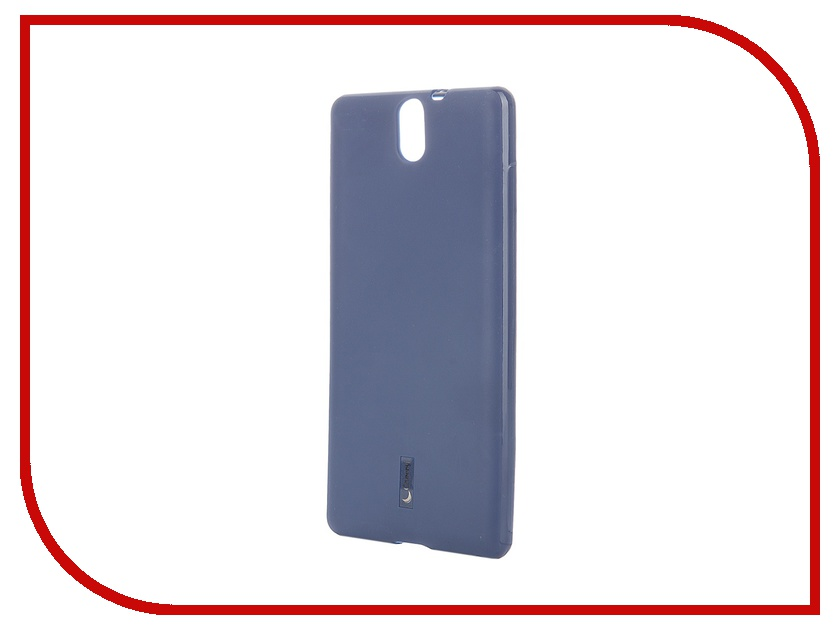 Аксессуар Чехол-накладка Sony Xperia C5 Ultra Dual Cherry Dark Blue 8314