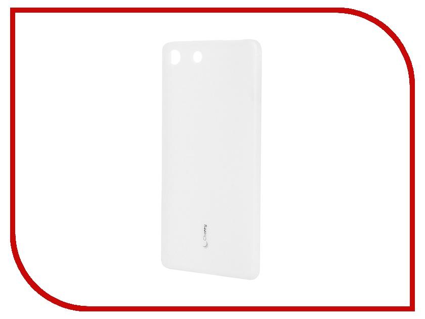 Аксессуар Чехол-накладка Sony Xperia M5/M5 Dual Cherry White 8316